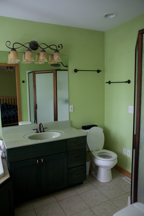 house inspection master bath